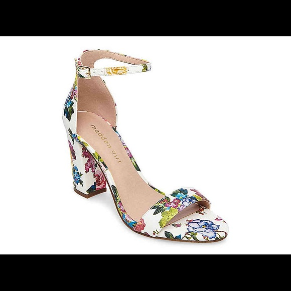 45914b9c91a Madden Girl Shoes - Madden girl beella heel shoe size 9 floral